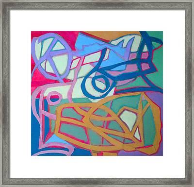 A Chord Framed Print by Diane Fine