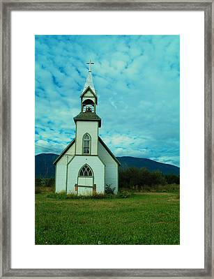 A Church In British Columbia   Framed Print by Jeff Swan