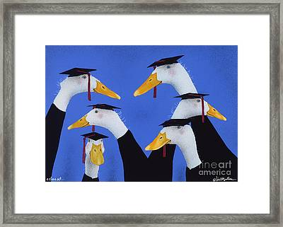 A Class Act... Framed Print by Will Bullas