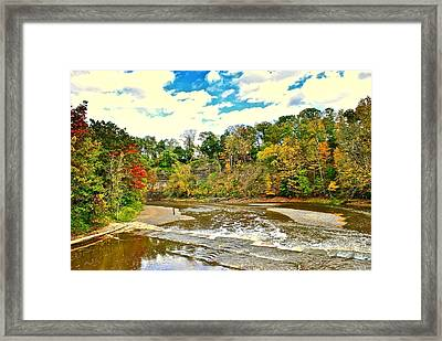 A Cleveland Autumn Framed Print by Frozen in Time Fine Art Photography
