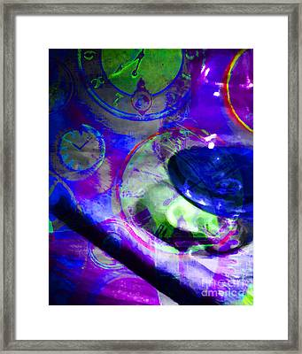 A Cognac Night 20130815m128 Framed Print by Wingsdomain Art and Photography