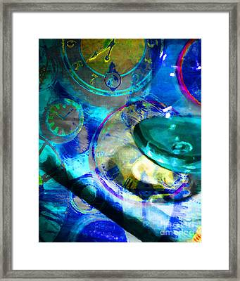 A Cognac Night 20130815m180 Framed Print by Wingsdomain Art and Photography
