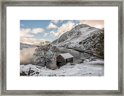 A Cold Start Framed Print by Adrian Evans