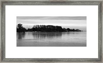 A Cold Winter's Day Framed Print by Carolyn Ricks