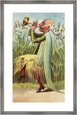 A Cornet Dance Framed Print by Aged Pixel