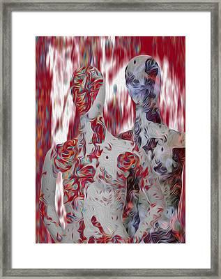 A Couple Framed Print by Jack Zulli