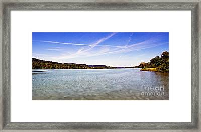 Day At The Lake Framed Print by Tom Gari Gallery-Three-Photography