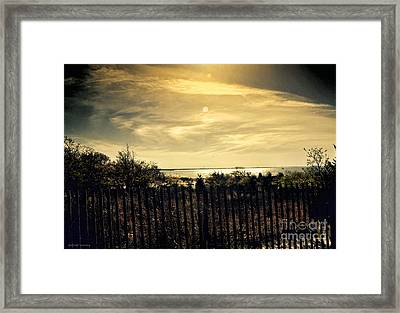 A Day Comes To An End Framed Print by Gerlinde Keating - Galleria GK Keating Associates Inc