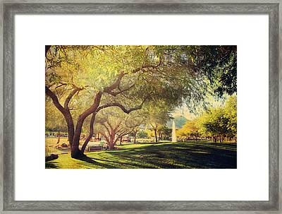 A Day For Dreaming Framed Print by Laurie Search