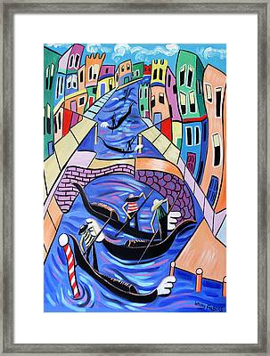 A Day In Venice Framed Print by Anthony Falbo