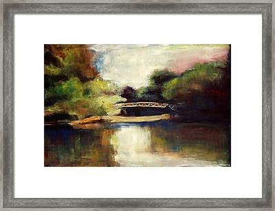 A Day In Victoria Park Framed Print by Sheila Diemert