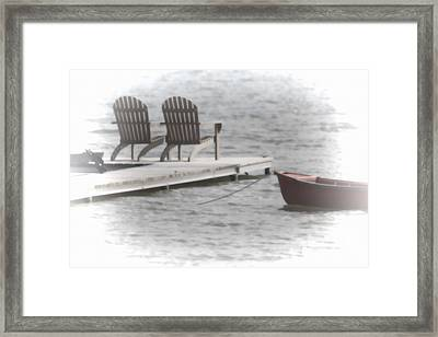 A Distant Summer Framed Print by Cathy  Beharriell