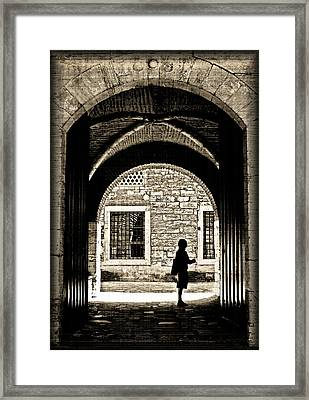 A Door To Hope Framed Print by Leyla Ismet