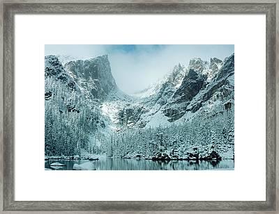 A Dream At Dream Lake Framed Print by Eric Glaser