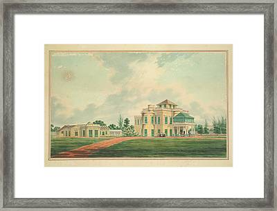A European House Framed Print by British Library