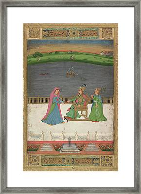 A European Princess Framed Print by British Library