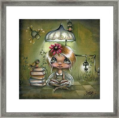 A Fairyland Novel Framed Print by Robin Sample