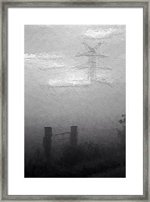 A Foggy Day Framed Print by Steve K