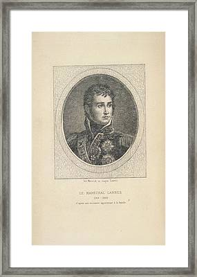 A French Marshal Framed Print by British Library