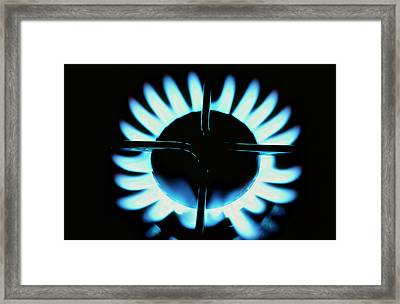 A Gas Cooker Framed Print by Ashley Cooper