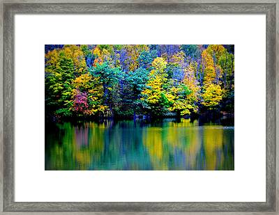 A Glorious Autumn Framed Print by Jon Van Gilder
