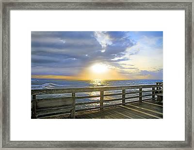 A Glorious Moment Framed Print by Betsy Knapp