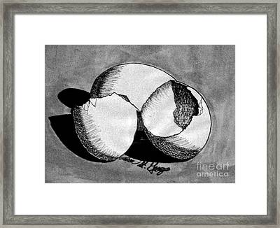 A Good Egg Framed Print by Teresa St George