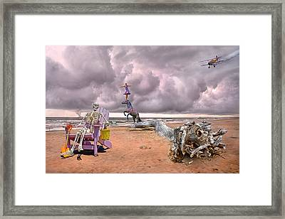 A Grain Of Sand Framed Print by Betsy C Knapp