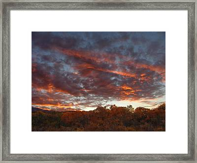A Grand Sunset 2 Framed Print by Glenn McCarthy Art and Photography
