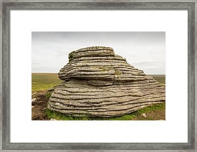 A Granite Tor Framed Print by Ashley Cooper