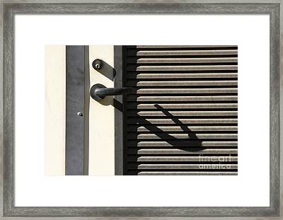 A Handle On It Framed Print by Dan Holm