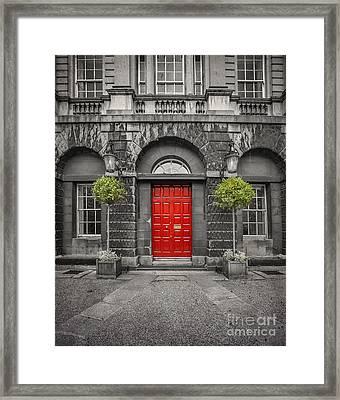 A Heart Needs A Home Framed Print by Evelina Kremsdorf