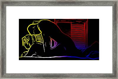 A Hot Night Framed Print by Stefan Kuhn
