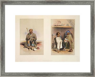 A Hottentot Woman Framed Print by British Library