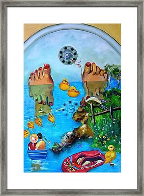 A Journey Framed Print by Susan Robinson