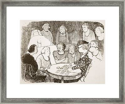A Keen Curiosity About The Future Framed Print by Pont