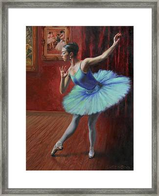 A Legacy Of Elegance Framed Print by Anna Rose Bain