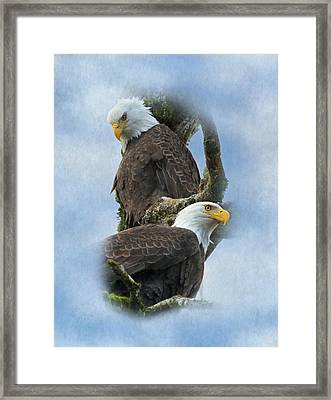 A Life-long Bond Framed Print by Angie Vogel