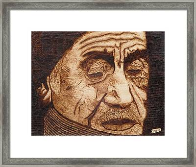 A Life's Hardships Framed Print by Iliev Petkov