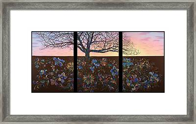 A Life's Journey Framed Print by James W Johnson