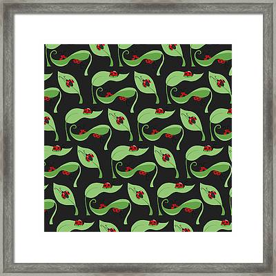 A Litte Bug Framed Print by Debra  Miller