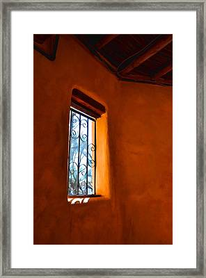 A Little Bit Of Sunshine Framed Print by Jan Amiss Photography