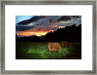A Little Country Framed Print by Adam LeCroy