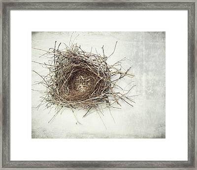 A Little Home Framed Print by Lupen  Grainne