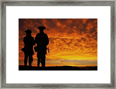 A Long Way To Go Framed Print by Randy Steele