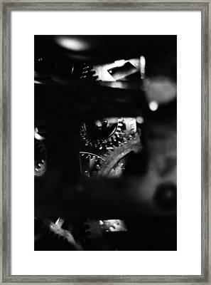 A Look Inside Framed Print by Aaron Aldrich