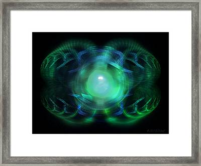 A Look Within Framed Print by Elizabeth S Zulauf