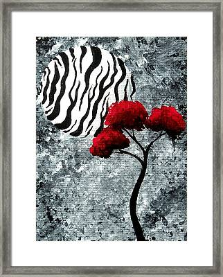 A Love Story No 23 Framed Print by Oddball Art Co by Lizzy Love