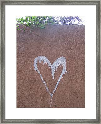 A Loving Wall Framed Print by Mike Podhorzer