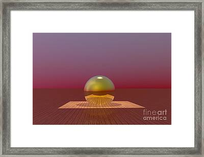 A Lozenge For The Soul Framed Print by Barbara Milton
